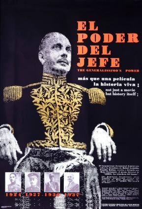 """""""El Poder del Jefe I"""". Cartel de Carlos Sangiovanni"""