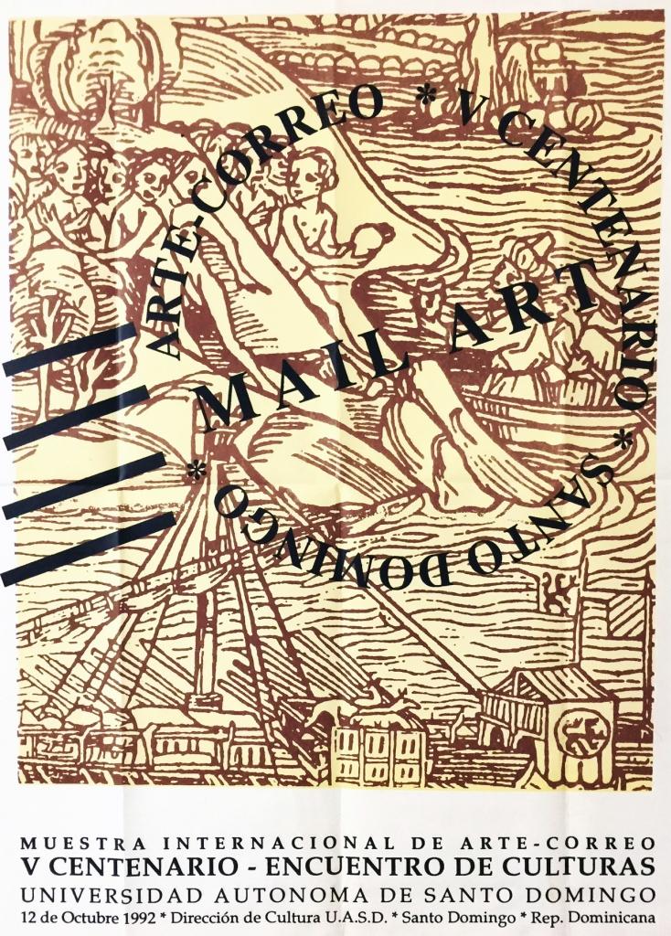 Cartel Encuentro de Culturas. (1992) Sangiovanni