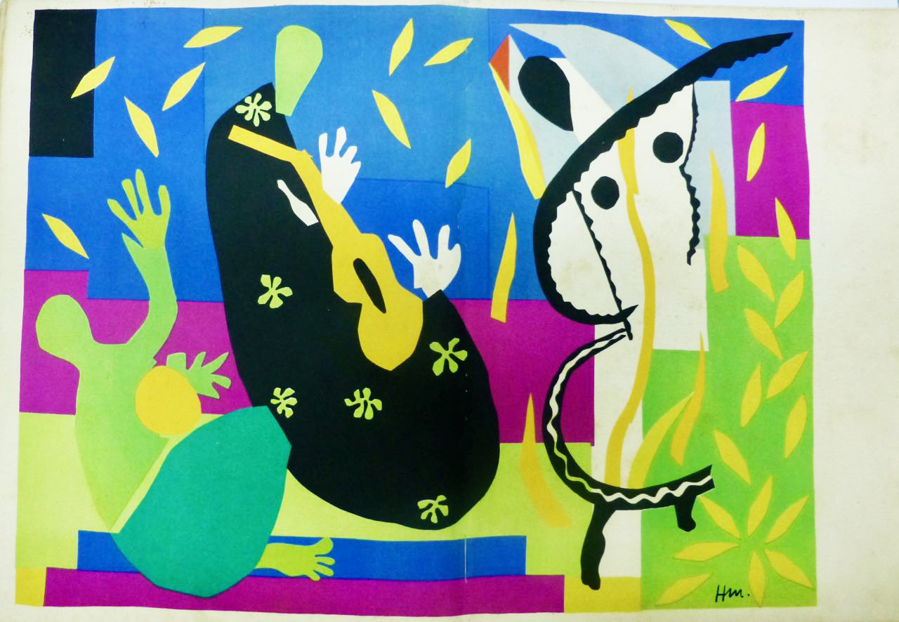 La Tristesse Du Roi.Henri Matisse