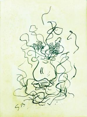 Litografía posterior Braque