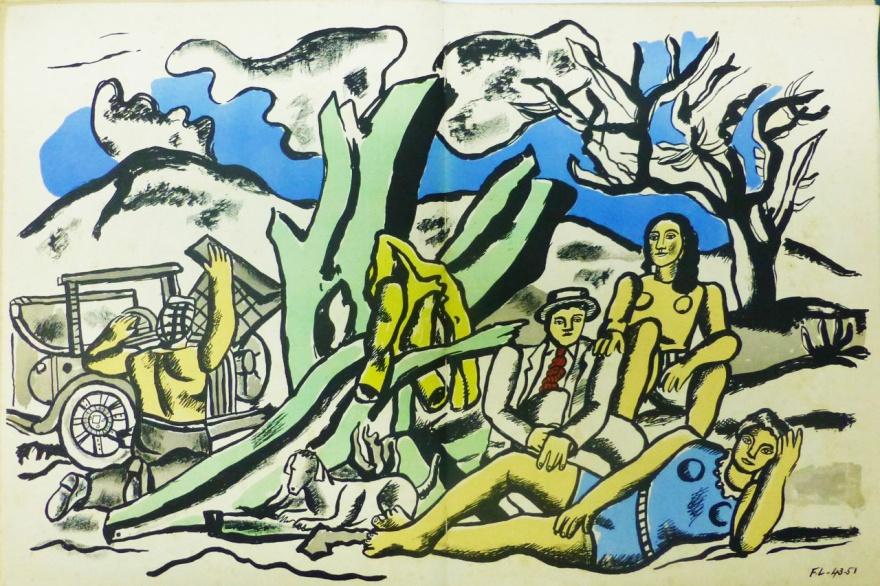 La Partie de Campagne. Fernand Léger