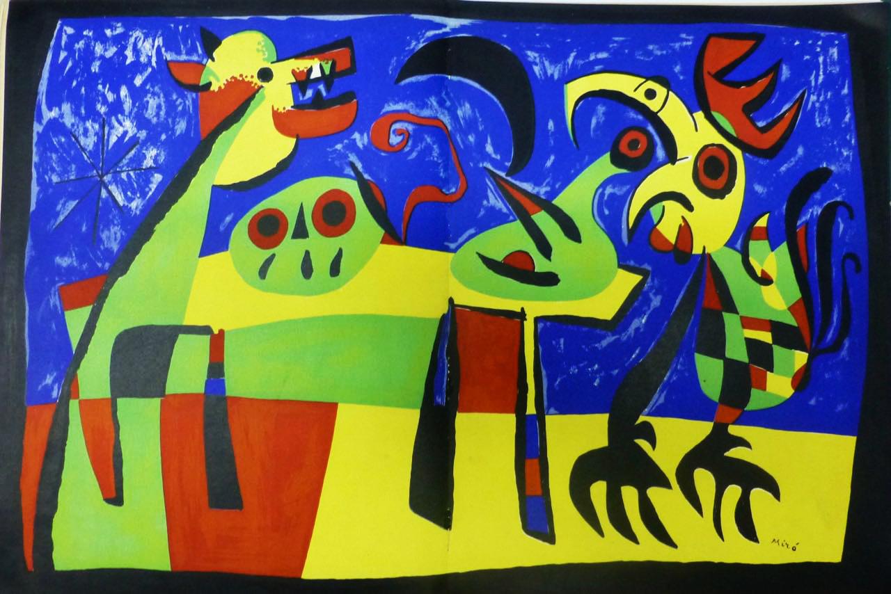 """""""Le Chien Aboyant a la Lune"""". Joan Miró"""